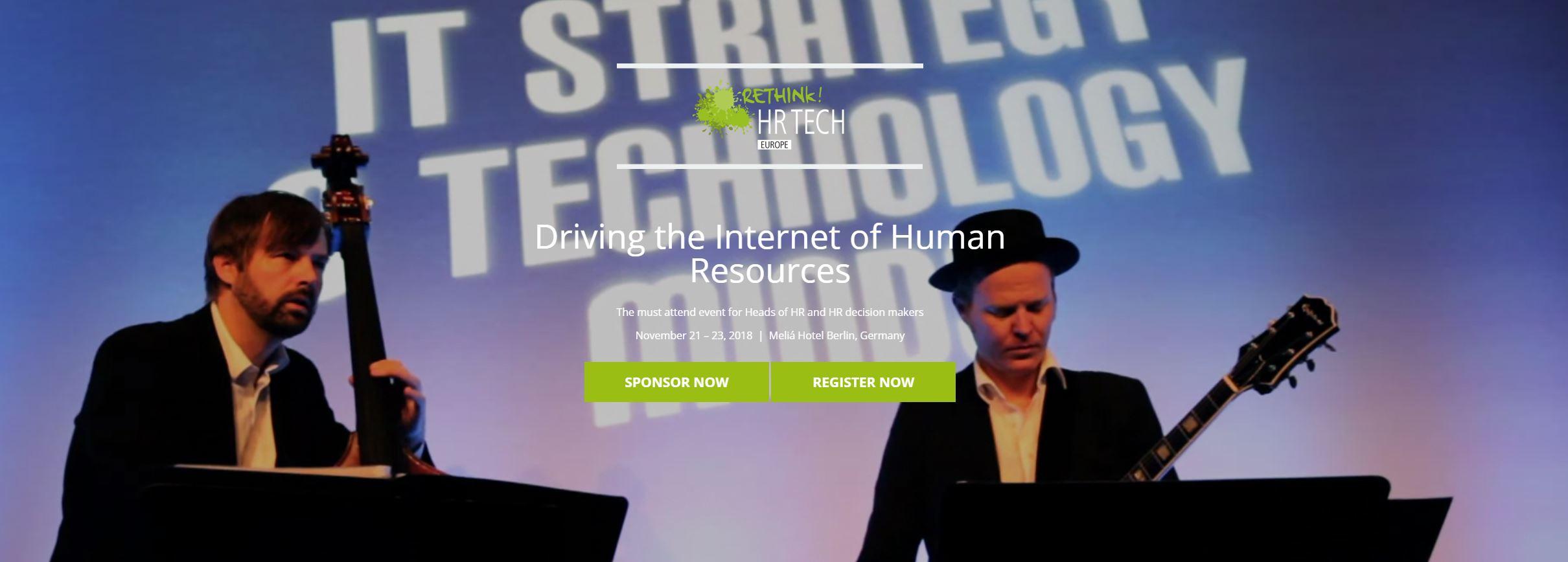 Rethink HR Tech Europe